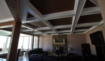 GENERAL CONST.- COFFERED CEILING- BROMBERG